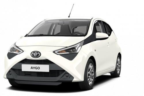TOYOTA Aygo 5 deurs 1.0 VVT-i 5MT X-cite + Toyota Safety Sense + Leder +Toebehoren