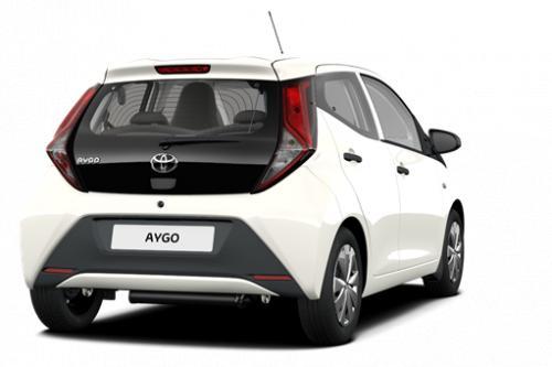 TOYOTA Aygo 5 deurs 1.0 VVT-i 5MT x-play II + Toyota Safety Sense + Manuele Airco