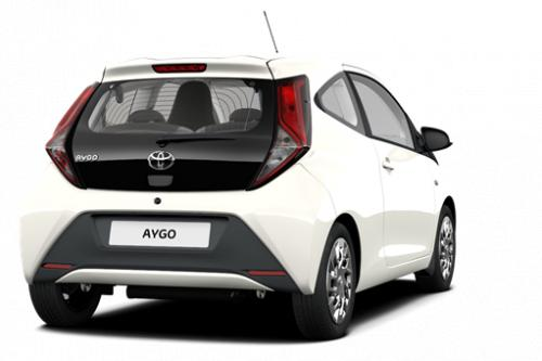 TOYOTA Aygo 5 deurs 1.0 VVT-i Multi Mode x-play II + Manuele Airco + Parkeersensoren Achteraan