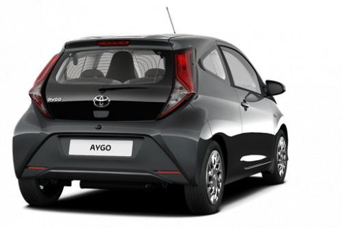 TOYOTA Aygo 5 deurs 1.0 VVT-i Multi Mode x-play II + Manuele Airco