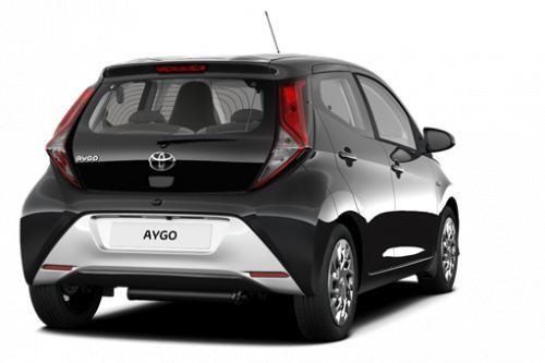 TOYOTA Aygo 5 deurs 1.0 VVT-i 5MT X-play 2 + Manuele Airco