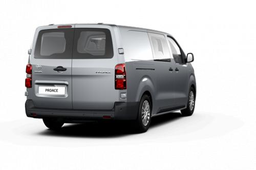 TOYOTA PROACE Double Cab LONG 2.0L Diesel 120hp MT Comfort + Luxe pack