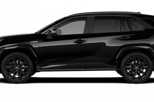 TOYOTA RAV4 5 deurs 2.5 Hybrid AWD e-CVT Black Edition Cold Pack + Pano + JBL Pack